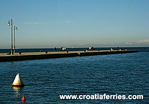 Ferry port Trieste