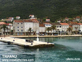 Ferry port Trpanj