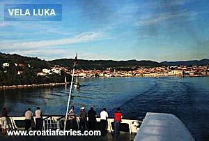 Ferry port Vela Luka