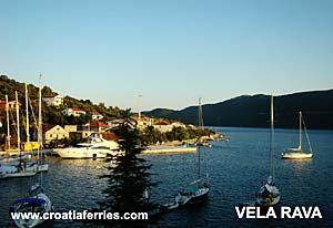 Ferry port Rava
