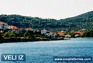 Ferry port Veli Iz