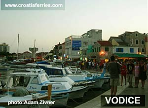 Ferry port Vodice