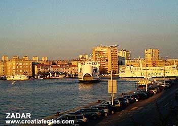 Ferry port Zadar