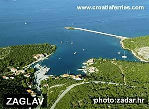Ferry port Zaglav