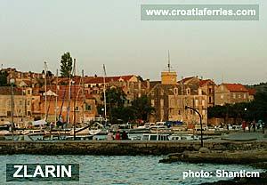 Ferry port Zlarin