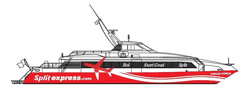 Adriatic Express fast catamaran ferry