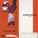 Italy to Dalmatia ferries schedules from 1964