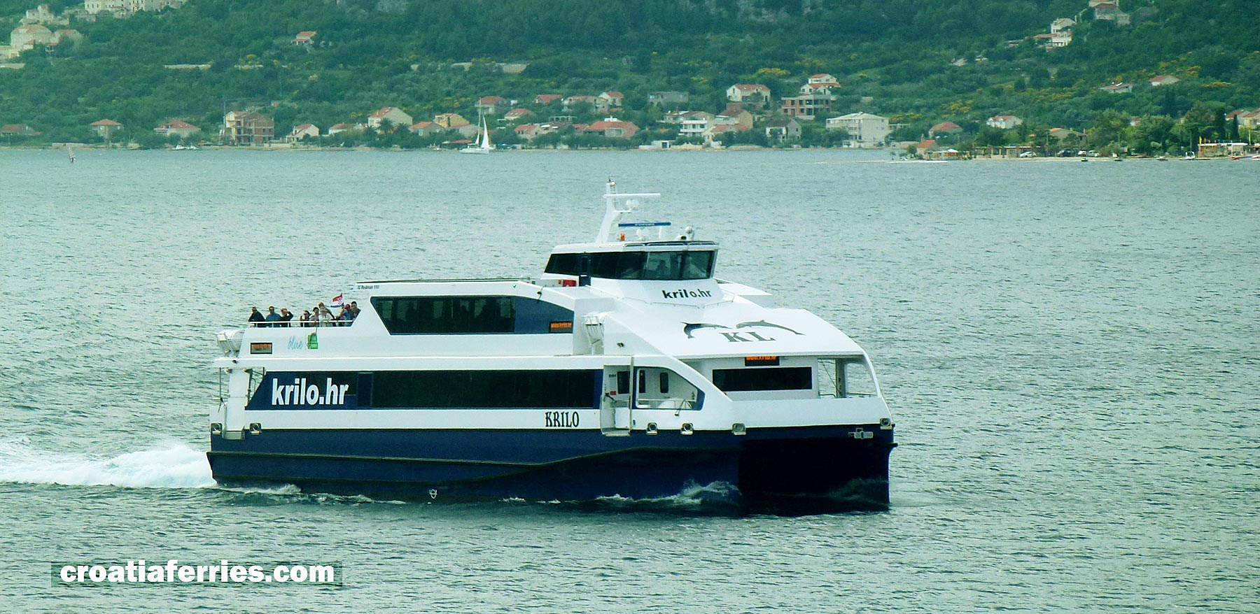 Catamaran Ferry 'Krilo' owned by Kapetan Luka