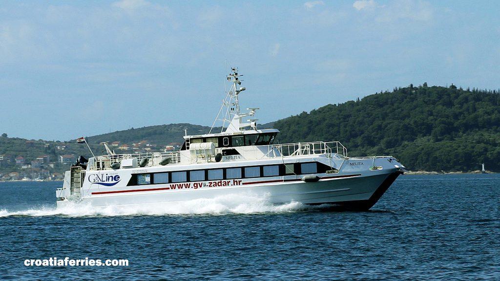 Fast Ferry Melita, Rijeka to Zadar