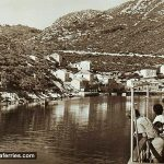Ferry Arriving in Sobra port on Mljet Island (1950s)