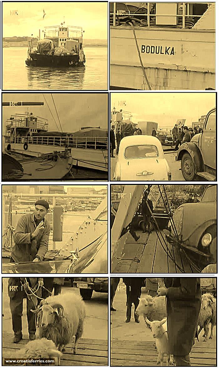 First ferry in Croatia