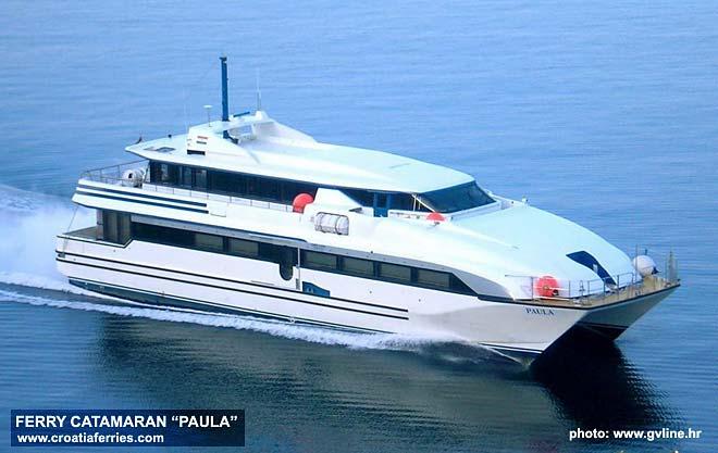 Fast foot passneger ferry Catamaran Paula