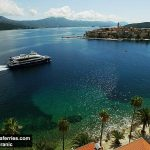 Summertime in Croatia - Island Hopping with ferry Krilo Star
