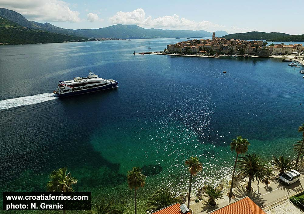 Ferries Croatia Islands