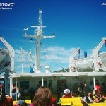 On board of ferry Lastovo