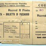Ferry Ticket Korcula to Dubrovnik (Gruz) from 1915