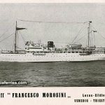 Ferryboats 'Francesco Morosini' and 'Brioni' in 1929