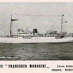 Ferryboats 'Francesco Morosini' and 'Brioni' in 1929