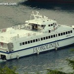 Video: Jadrolinija's Catamaran Judita Arriving In The Port
