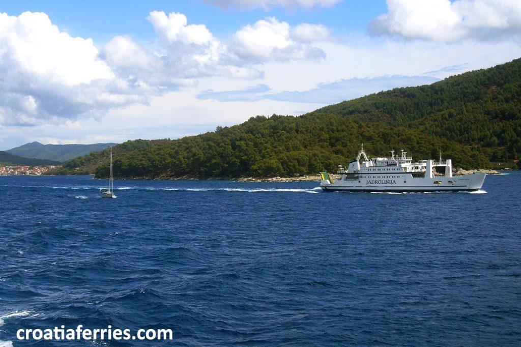 Car Ferry Jadrolinija, Croatia
