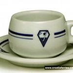 Jadrolinija's Coffee Cup from 1980s