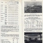 Jadrolinija's ferry schedules from 1960