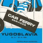 Jadrolinija Car Ferry Services Brochure (1980)