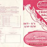 Italy to Croatia and Island Hopping Brochure from 1961