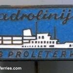 Jadrolinija Ferry Pins