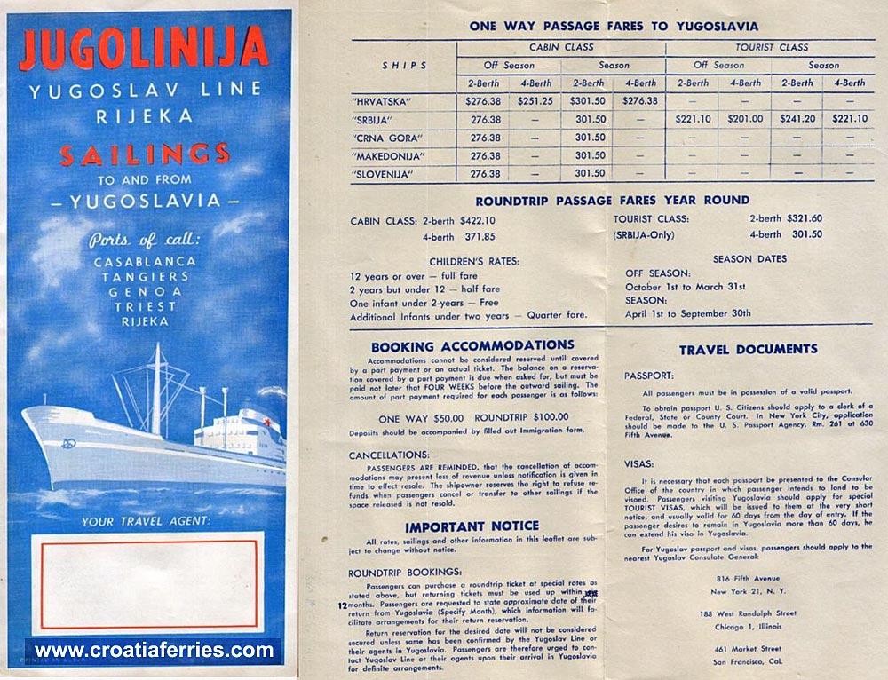 jugolinija-brochure1950s