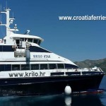 Video: Ferry Catamaran 'Krilo Star' arriving in Korcula on route to Mljet and Dubrovnik