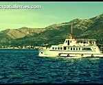 Video - by foot passenger ferry from Korcula to Orebic