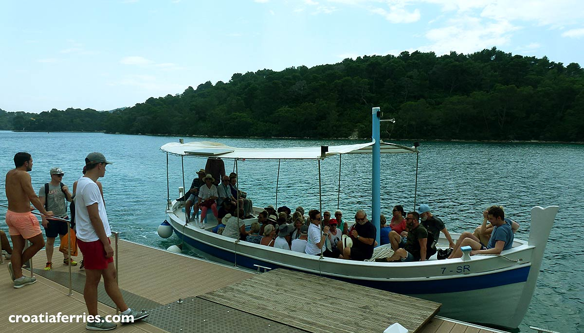 Ferry Boat 'Mato', owned by Mljet National Park