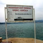 Orebic Foot Passenger Ferry Terminal