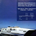 Snav Ferries Timetable from 2012